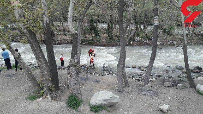 پیدا شدن جسد جوان غرق شده در رودخانه کرج