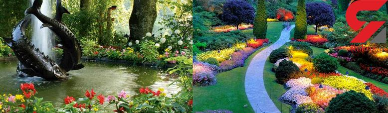 زیباترین و بزرگترین باغ گل دنیا +تصاویر دیدنی