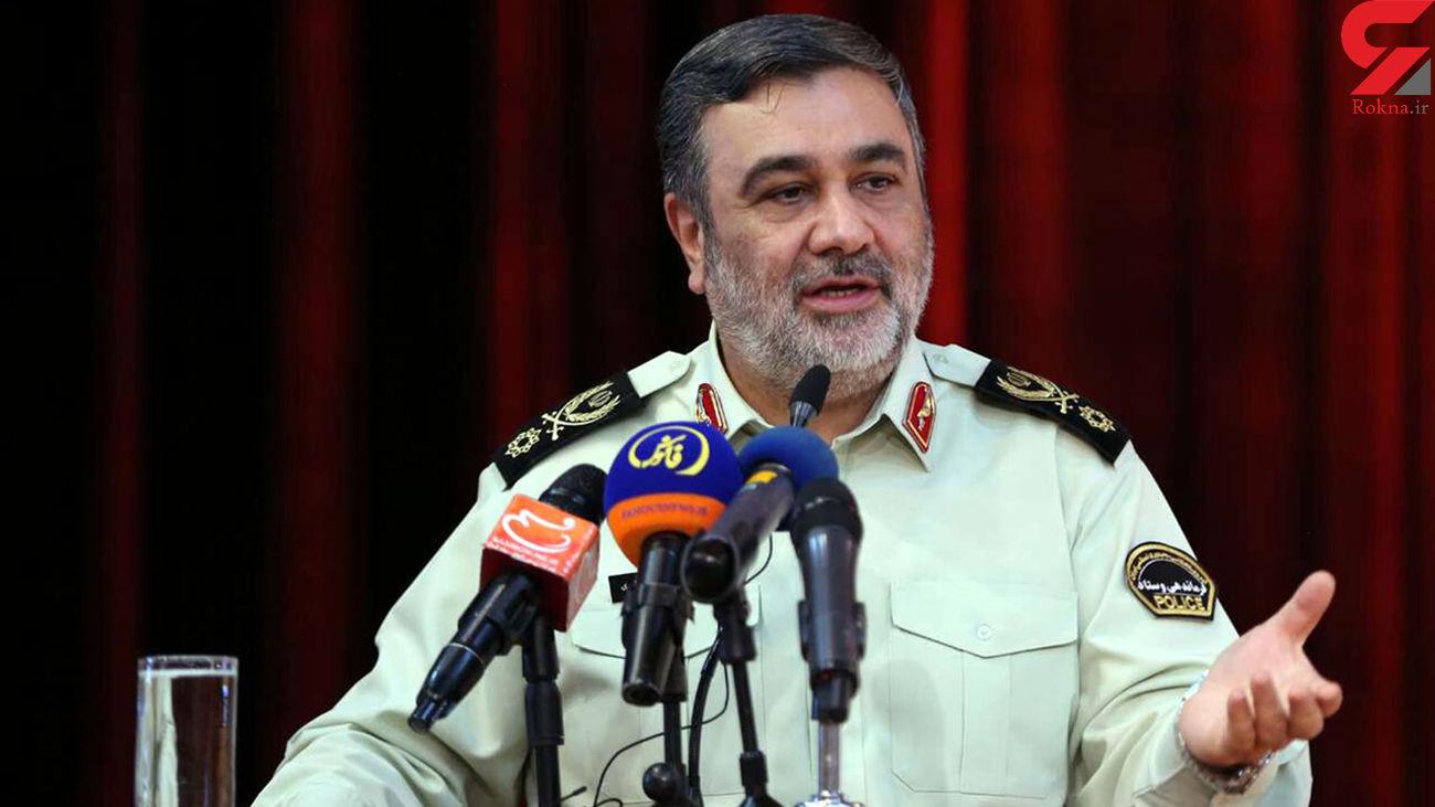 فرمانده ناجا: هیچ فردی اجازه عربدهکشی ندارد
