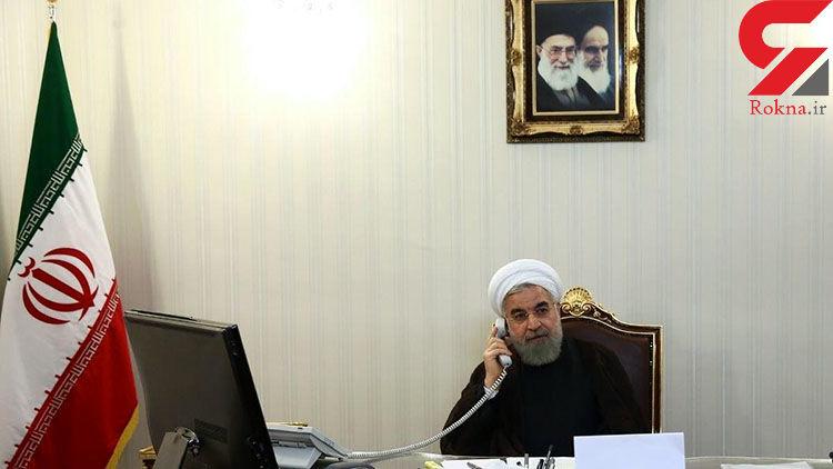 روحانی بر بکارگیری امکانات برای مدیریت نهایی سیلابها تاکید کرد