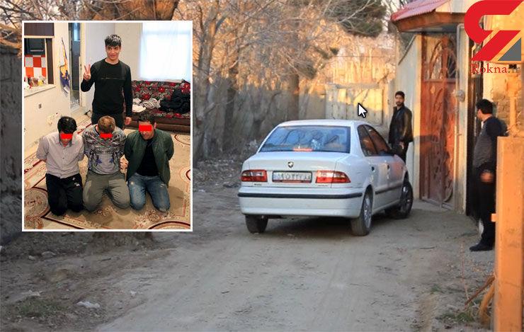 جزییات نفوذ پلیس به دخمه گروگانگیران  5 میلیاردی + فیلم