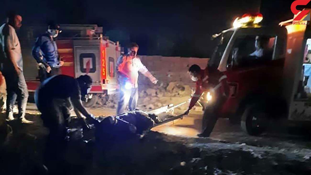 پیدا شدن جسد یک مرد در کانال آب رباط کریم / او کیست؟ + عکس