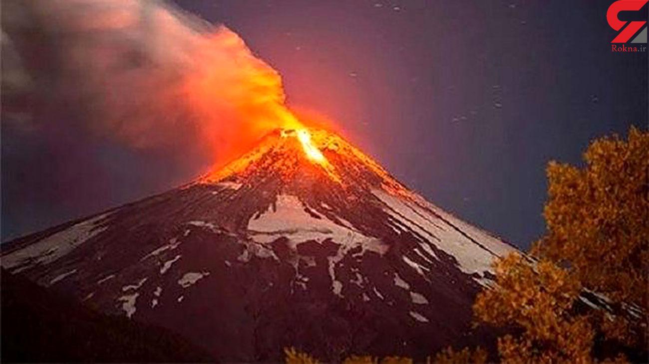 دماوند یک آتشفشان تقریبا خاموش است