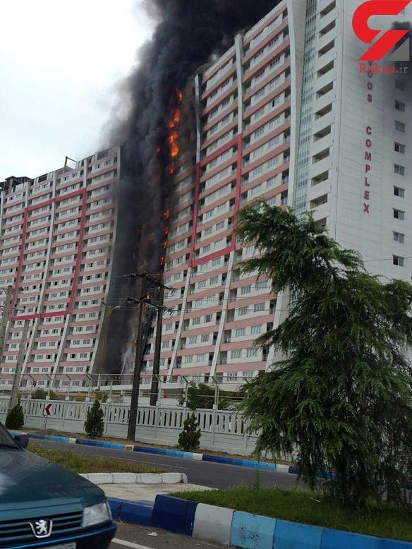 فیلم برج 20 طبقه شمال در آتش+تصاویر