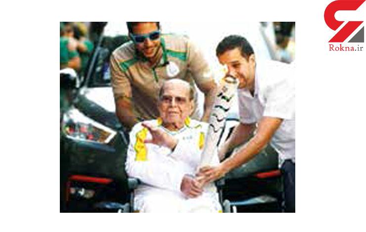 مرگ جراح معروف برزیلی پس از حمل مشعل المپیک+عکس