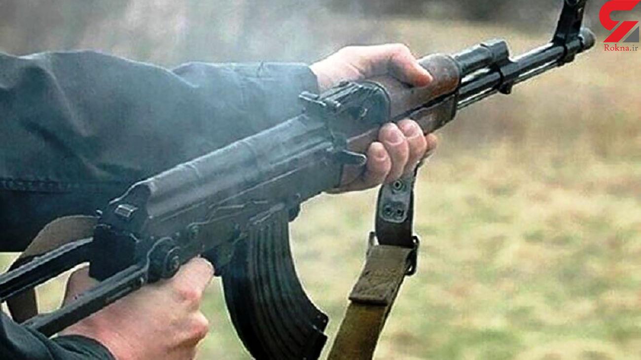 تیرباران جوان کهنوجی با کلاشینکف قاتلان!