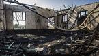 آتش گرفتن یک مسجد و یک بقعه در لنگرود