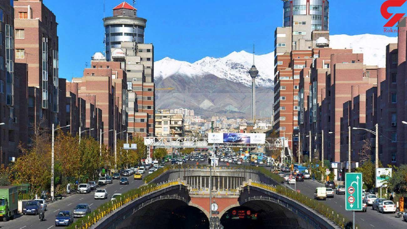 وضعیت هوای تهران در دومین روز بهار