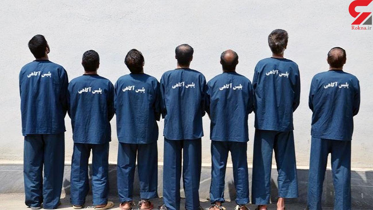 دستگیری 32 سارق حرفه ای در کاشان