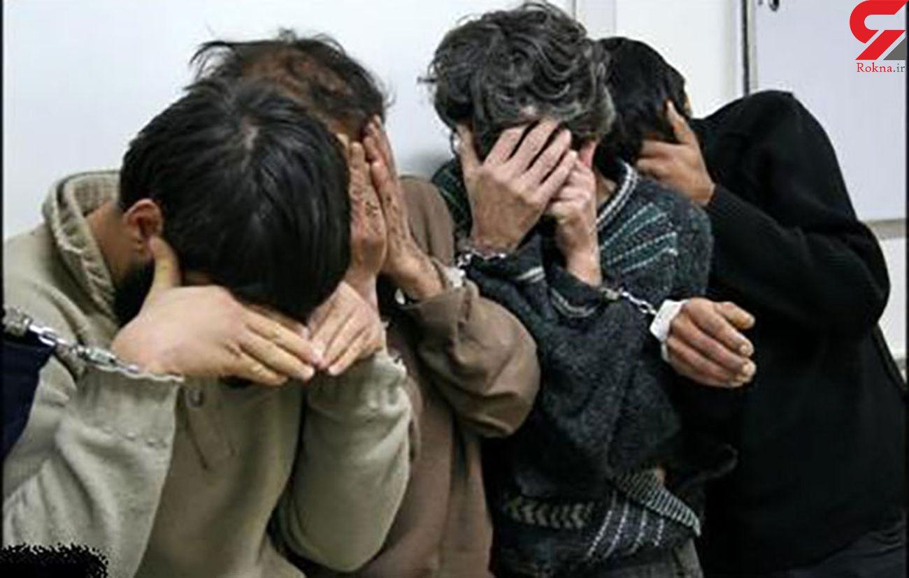 60فقره سرقت در پرونده 6 سارق حرفه ای +عکس