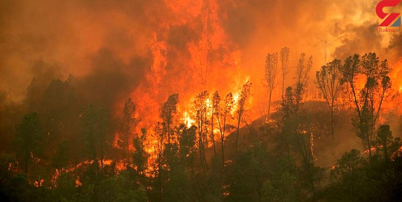 12خانه روستایی بم پشت سراوان در آتش سوختند
