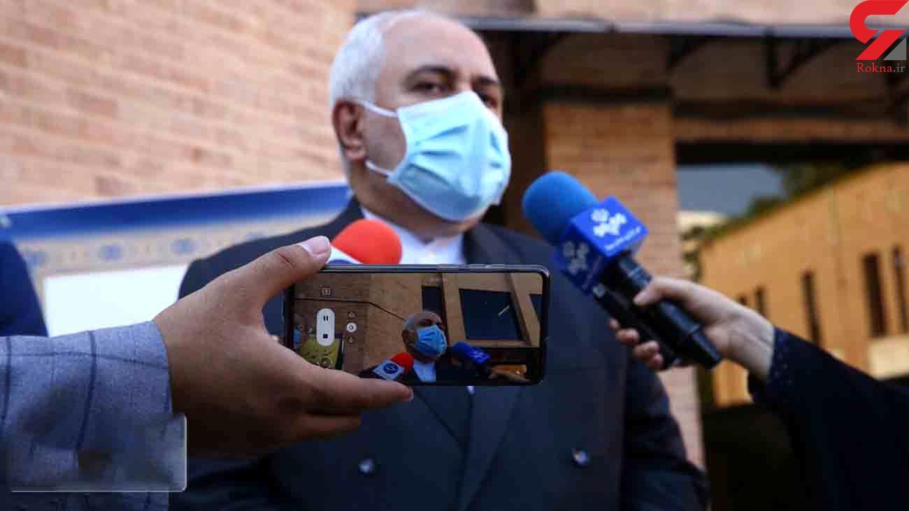 ظریف: تبادل 2 جاسوس بازداشتی با آمریکا کذب محض است