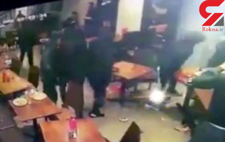 حمله 6 سیاه پوش به یک رستواران مجلل + عکس
