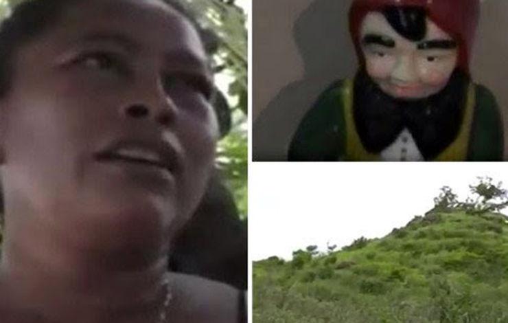 جن ها یک زن را 5 روز در مکان مخوفی زندانی کردند! + عکس