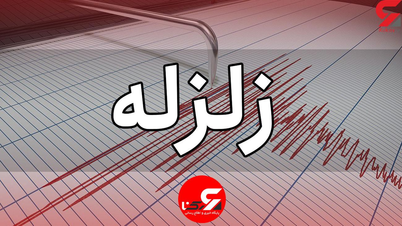 اولین فیلم از زلزله شدید صبح امروز در چهار محال و بختیاری