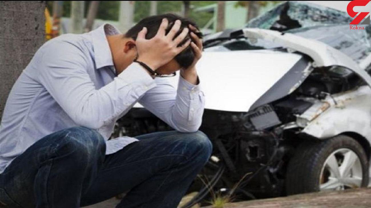 تغییر مسیر ناگهانی یکی از علل تصادفات در کرج