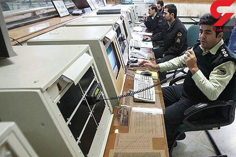 یک مزاحم 2 هزار بار با پلیس 110 تماس گرفت !  / او بازداشت شد