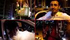 عروس و داماد در یک اقدام عجیب  از پنجره طبقه هفتم وارد اتاق حجله شدند + فیلم و عکس