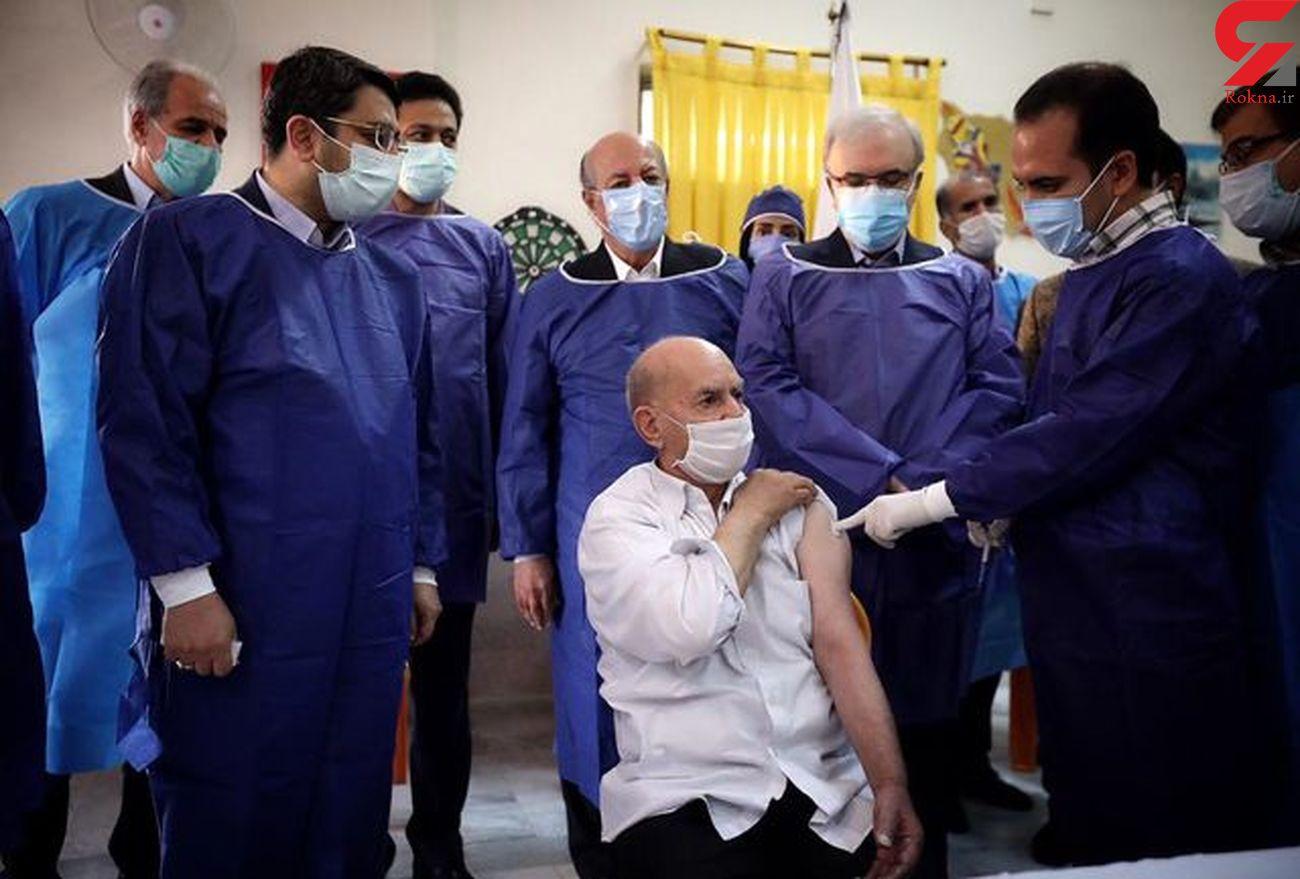 واکسن کرونا به کهریزک رسید + عکس