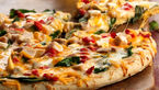 پیتزا قارچ و مرغ با ادویه ایتالیایی+ دستور پخت