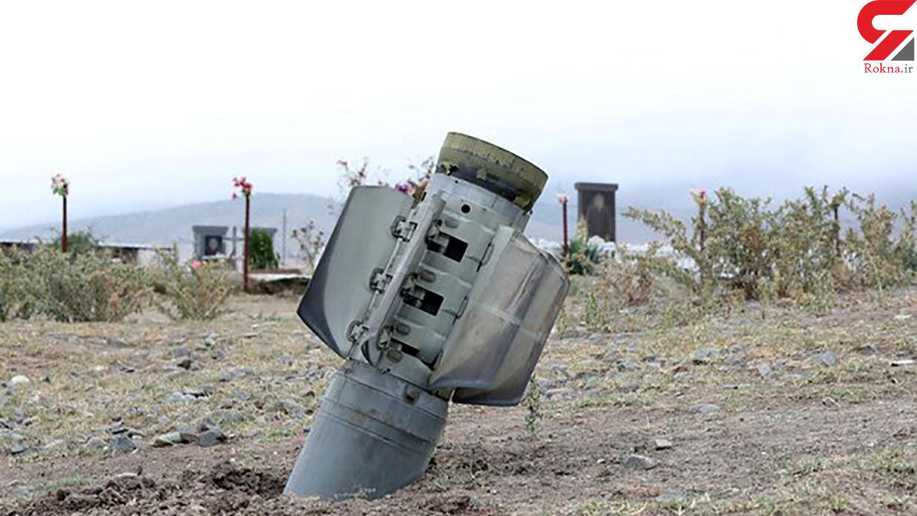 عکس اصابت موشک بزرگ به 120 کیلومتری تبریز / مردم آرامش ندارند