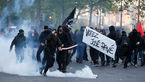 اعلام نتایج اولیه انتخابات ریاست جمهوری فرانسه را به آشوب کشید