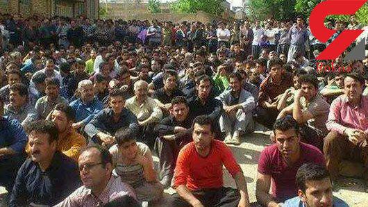 مردم جلوی اعدام در ملاء عام قاتل روانسری را گرفتند + عکس