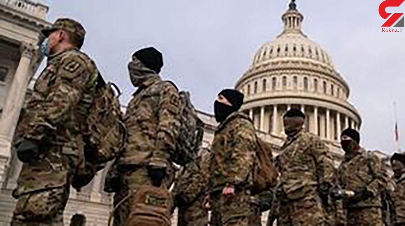 برنامه بایدن برای حفظ نیروهای گارد ملی در واشنگتن تا خاتمه ۲۰۲۱