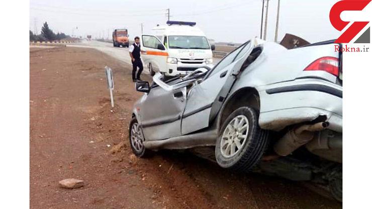 سانحه رانندگی جادهای در ساوه ۳ مصدوم برجای گذاشت