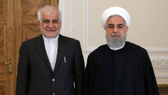 سفیر جدید ایران در چین با رئیس جمهور دیدار کرد