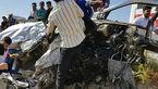 تصادف خونین در جاده داراب-فسا با ۱۶ کشته و زخمی + تصاویر
