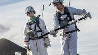 تمرین راهپیمایی روی ماه توسط اروپایی ها