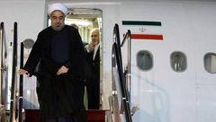 روحانی راهی نیویورک شد + عکس