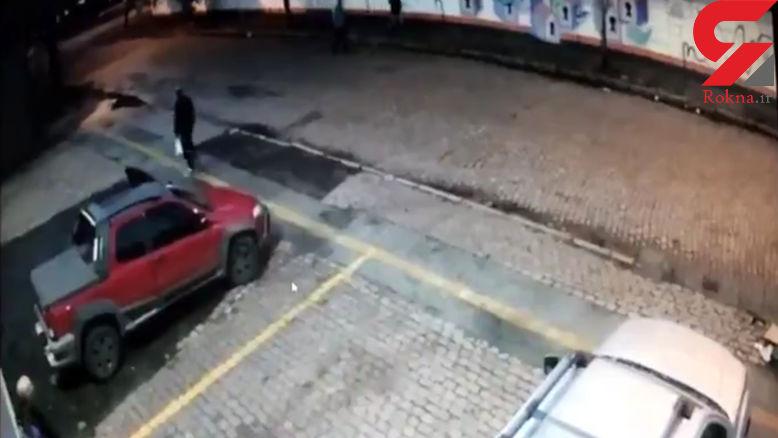 تیراندازی خونین بین پلیس و دزدان+ فیلم