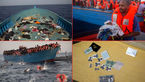 تصاویری تأثیرگذار از نجات 3 هزار مهاجر در دریای مدیترانه