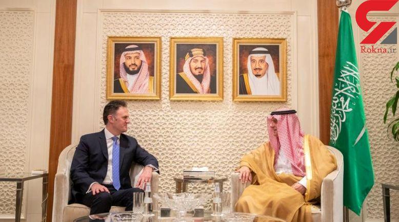 دیدار مقام آمریکایی و وزیر خارجه عربستان در ریاض