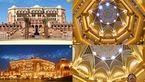 لاکچری ترین هتل با سقفی از جنس طلا+عکس