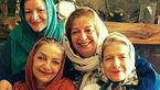 خانواده پرجمعیت هنرمند زن مشهور ایرانی +عکس تمامی خواهران