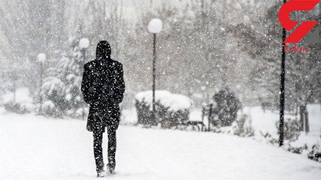 بارش برف در سیستان و بلوچستان