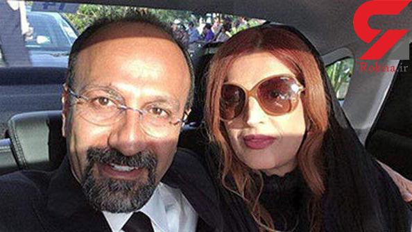 سلغی جالب همسر اصغر فرهادی در فرانسه + عکس