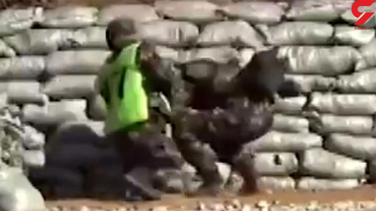 زنده ماندن عجیب یک سرباز پس از پرتاب ناموفق نارنجک+ فیلم