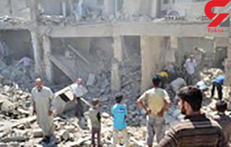 یورش جنگندههای ائتلاف آمریکا به حلب / 120 غیرنظامی قتل عام شدند