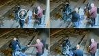 فیلم تکان دهنده از حمله یک جانی به مرد تنها / یک مشت مردی را قبض روح کرد + تصاویر