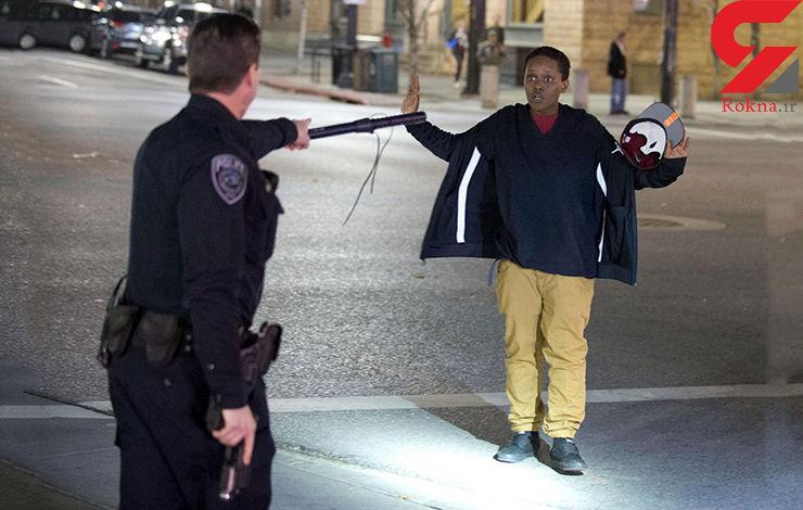 شلیک احمقانه پلیس امریکا به یک نوجوان