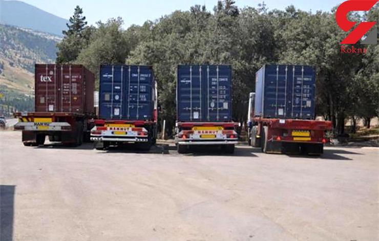 توقیف 250 تن روغن زیتون قاچاق در رودبار