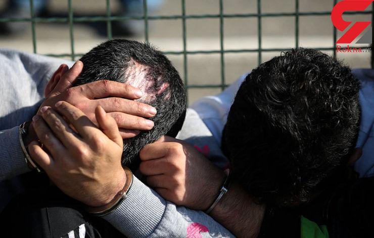 قلدرهای مسلح کرمانشاه دستگیر شدند