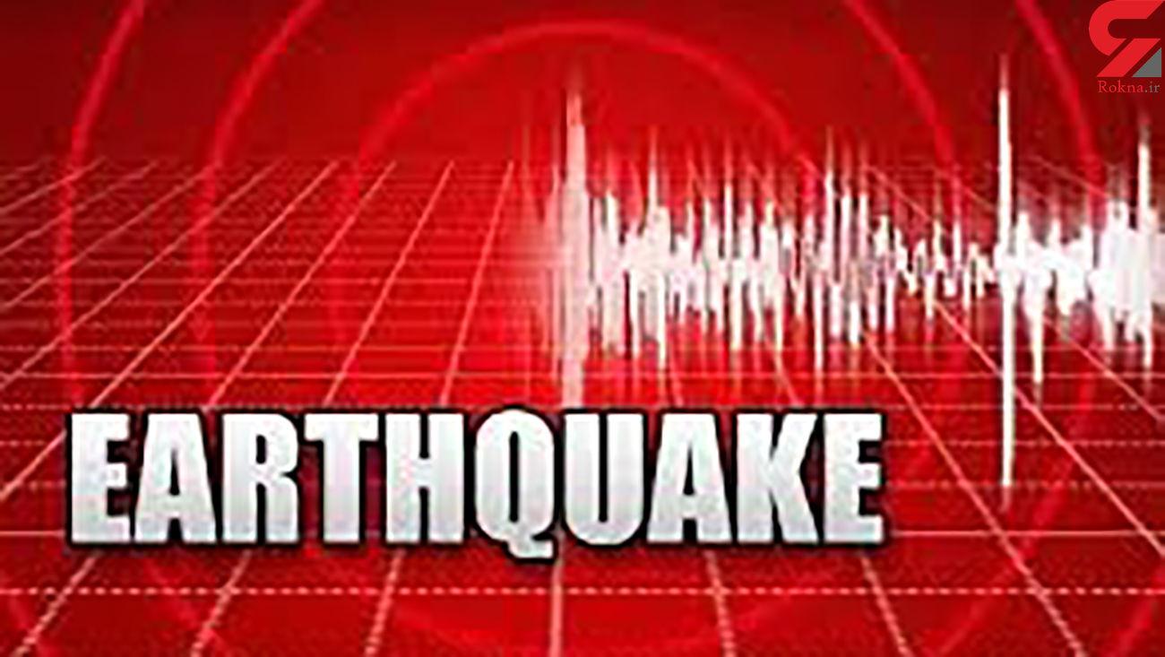 آمریکا زلزله آمد