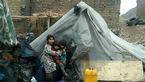 زندگی خانواده کارتن خواب با ۳فرزند در ۵ کیلومتری خرمآباد+عکس