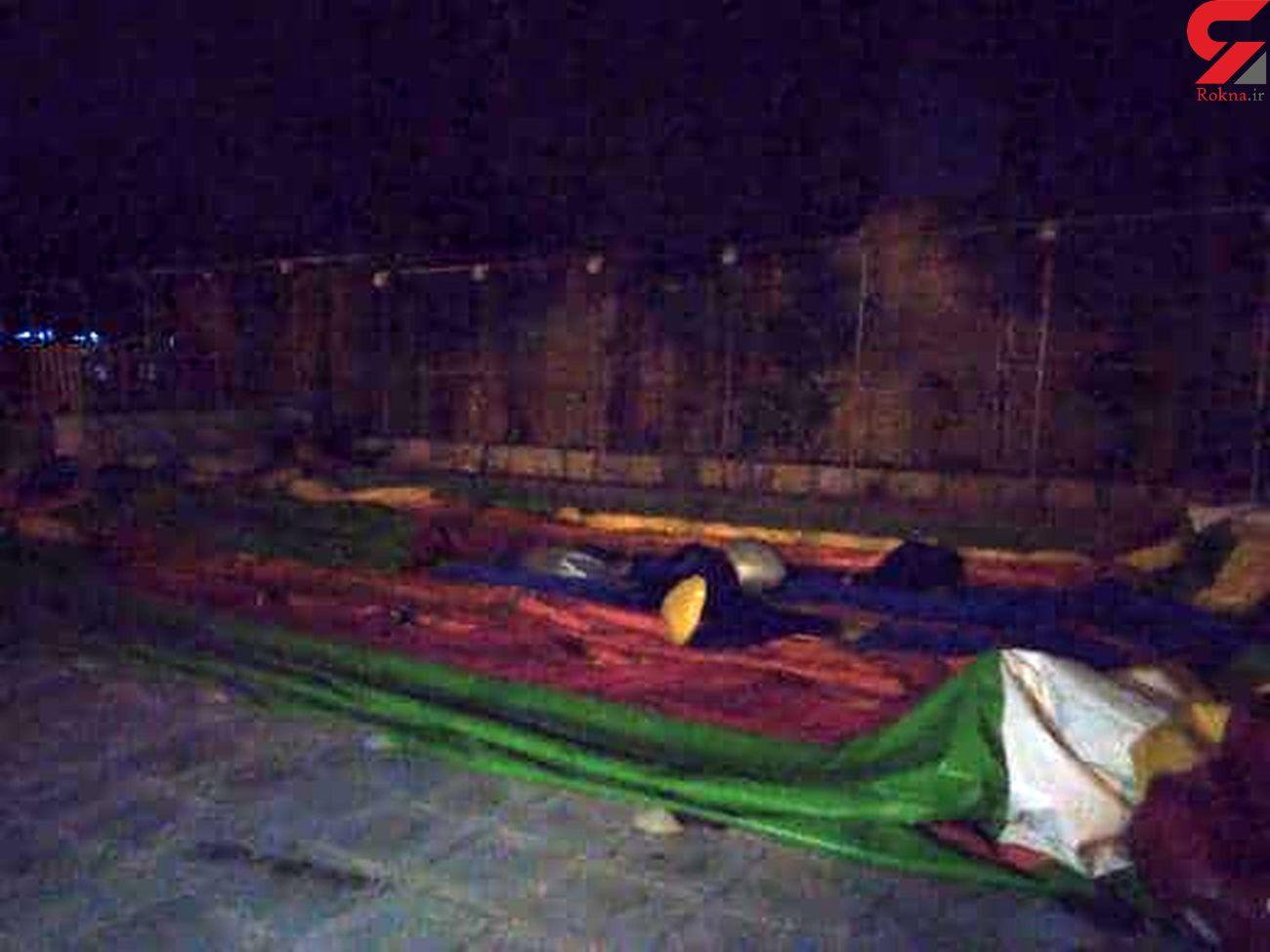 حادثه برای 10 کودک به خاطر قطعی برق در شهربازی سمنان + عکس