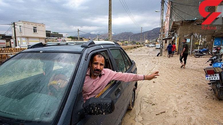 بیش از ۲ روستا در میناب دچار آبگرفتگی شدند
